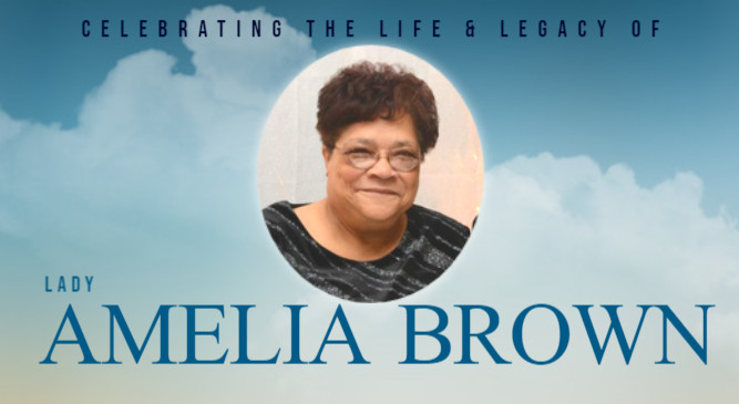Celebration of Life For Lady Amelia Brown