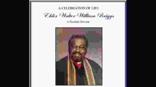 Celebration of Life: Elder Walter Griggs