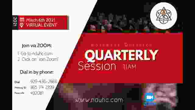 2021 ND Quarterly Session